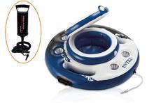 Bar Flutuante Cooler Inflável + Bomba de Inflar 29cm Intex -