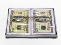 Baralho Dólar com 2 jogos de 54 cartas cada  6 conjuntos - Produto nacional