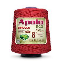 Barbante Apolo Eco nº8 com 600g Círculo - Pimenta -