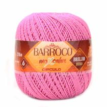 Barbante Barroco Maxcolor Brilho Ouro N06 200g Círculo - Circulo
