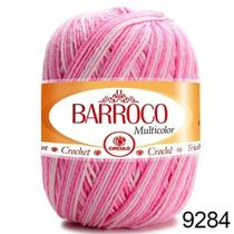 Barbante barroco multicolor 200g - 226m cor 9284 bailarina