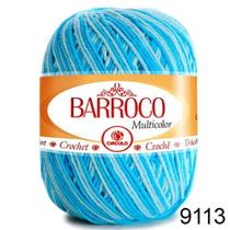 Barbante Barroco Multicolor 200g COR 9113 Nº 6 - Círculo