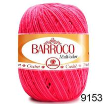 Barbante Barroco Multicolor 200g COR 9153 Nº 6 - Círculo