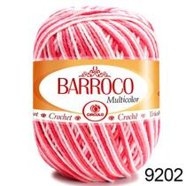 Barbante Barroco Multicolor 200g - COR 9202 Nº 6 Círculo