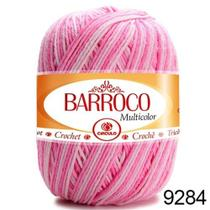 Barbante Barroco Multicolor 200g COR 9284 Nº 6 - Círculo