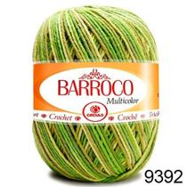 Barbante Barroco Multicolor 200g - COR 9392 Nº 6 Círculo