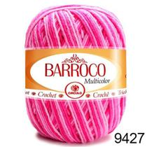 Barbante Barroco Multicolor 200g  COR 9427 Nº 6- Círculo