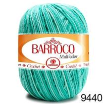 Barbante Barroco Multicolor 200g COR 9440 Nº6 - Círculo