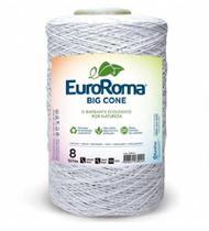 Barbante Big Cone Colorido nº8 c/ 1,8kg EuroRoma - Branco -