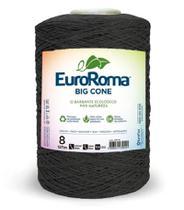 Barbante Big Cone Colorido nº8 c/ 1,8kg EuroRoma - Chumbo -