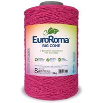 Barbante Big Cone Colorido nº8 c/ 1,8kg EuroRoma - Pink - Eurofios