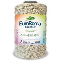 Barbante Big Cone Colorido nº8 com 1,8kg EuroRoma - Cor 300 Caqui - Eurofios