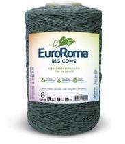 Barbante Big Cone Colorido nº8 com 1,8kg EuroRoma - Cor 805 Verde Militar -