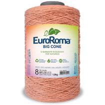 Barbante Big Cone Colorido nº8 com 2,1kg EuroRoma - Cor 700 Salmão - Eurofios