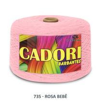 Barbante Cadori N06 - 1,8kg  Rosa Bebê -
