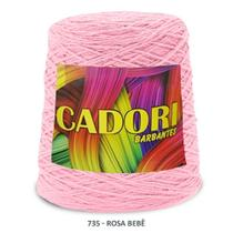 Barbante Cadori N06 - 700m Rosa Bebê -