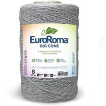 Barbante Color 4/8 1373M 1,8Kg Cinza 270 Euroroma -