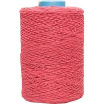 Barbante colorido 1,8kg 6 fios rolo 1820m vermel unidade - Barb. Piratininga