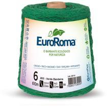 Barbante colorido 600g 4/6 fios 610m vd bandeira unidade - Euroroma