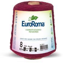 Barbante colorido 600g 4/8 fios 457m bordo unidade - Euroroma