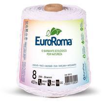 Barbante colorido 600g 4/8 fios 457m branco unidade - Euroroma