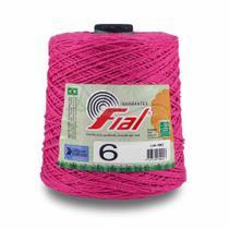 Barbante Colorido Fial 600 gramas nº 6 -