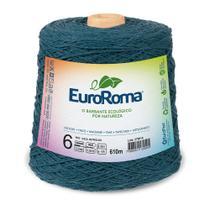 Barbante Colorido nº6 c/ 600g EuroRoma - Azul Petróleo - Eurofios