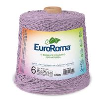 Barbante Colorido nº6 c/ 600g EuroRoma - Lilás Claro - Eurofios