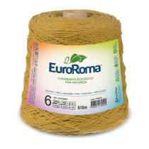 Barbante Colorido nº6 c/ 600g EuroRoma - Mostarda - Eurofios