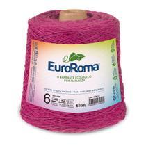 Barbante Colorido nº6 c/ 600g EuroRoma - Pink - Eurofios