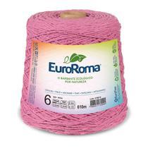 Barbante Colorido nº6 c/ 600g EuroRoma - Rosa - Eurofios