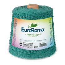Barbante Colorido nº6 c/ 600g EuroRoma - Verde Água Escuro - Eurofios