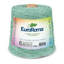 Barbante Colorido nº6 c/ 600g EuroRoma - Verde Água - Eurofios