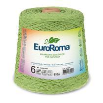 Barbante Colorido nº6 c/ 600g EuroRoma - Verde Limão - Eurofios