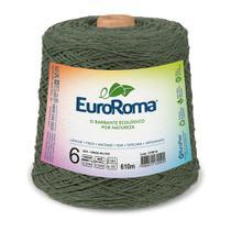 Barbante Colorido nº6 c/ 600g EuroRoma - Verde Militar - Eurofios
