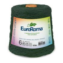 Barbante Colorido nº6 c/ 600g EuroRoma - Verde Musgo - Eurofios