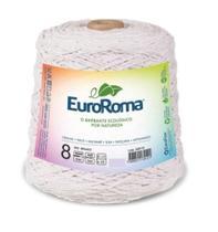 Barbante Colorido Nº8 C/ 1 kg  Euroroma - Branco -