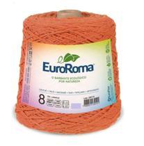Barbante Colorido Nº8 C/1 kg Euroroma - Laranja -