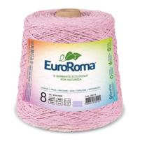 Barbante Colorido Nº8 C/ 1kg Euroroma - Rosa Bebê - Eurofios