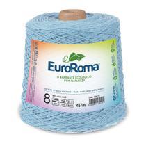 Barbante Colorido nº8 c/ 600g EuroRoma - Azul Bebê - Eurofios
