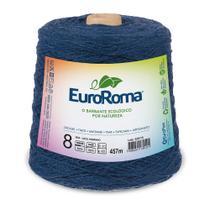 Barbante Colorido nº8 c/ 600g EuroRoma - Azul Marinho - Eurofios