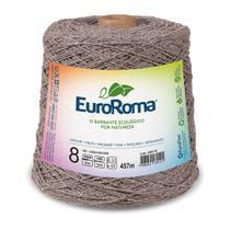 Barbante Colorido nº8 c/ 600g EuroRoma - Caqui Escuro - Eurofios