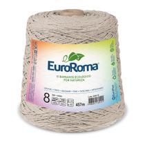 Barbante Colorido nº8 c/ 600g EuroRoma - Caqui - Eurofios