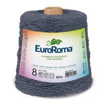 Barbante Colorido nº8 c/ 600g EuroRoma - Jeans - Eurofios