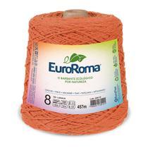 Barbante Colorido nº8 c/ 600g EuroRoma - Laranja - Eurofios