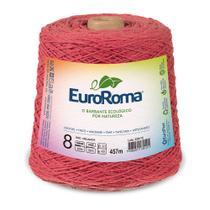 Barbante Colorido nº8 c/ 600g EuroRoma - Melancia - Eurofios