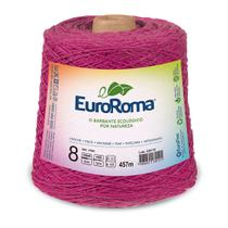 Barbante Colorido nº8 c/ 600g EuroRoma - Pink - Eurofios