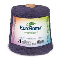 Barbante Colorido nº8 c/ 600g EuroRoma - Roxo - Eurofios