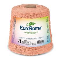 Barbante Colorido nº8 c/ 600g EuroRoma - Salmão - Eurofios