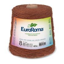 Barbante Colorido nº8 c/ 600g EuroRoma - Telha - Eurofios